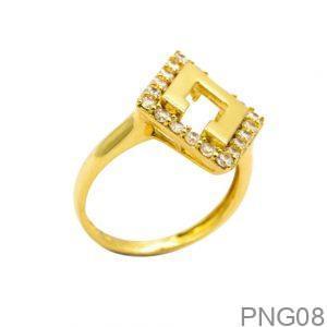 Nhẫn Nữ Vàng 18K Đính Đá CZ - PNG08