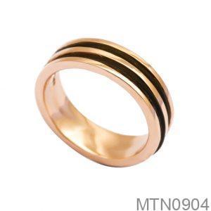 MTN0904 Nhẫn nam lông voi vàng 10k