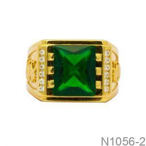 Nhẫn Nam Vàng Vàng 18K Đính Đá CZ - N1056-2