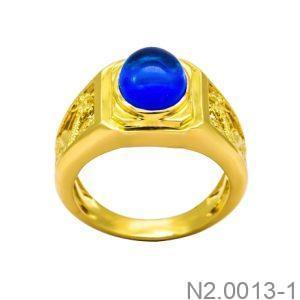 Nhẫn Nam Vàng 18K - N2.0013-1