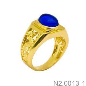 Nhẫn Nam Vàng Vàng 18K - N2.0013-1