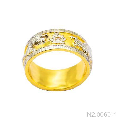 Nhẫn Nam Rồng Vàng 18K - N2.0060-1