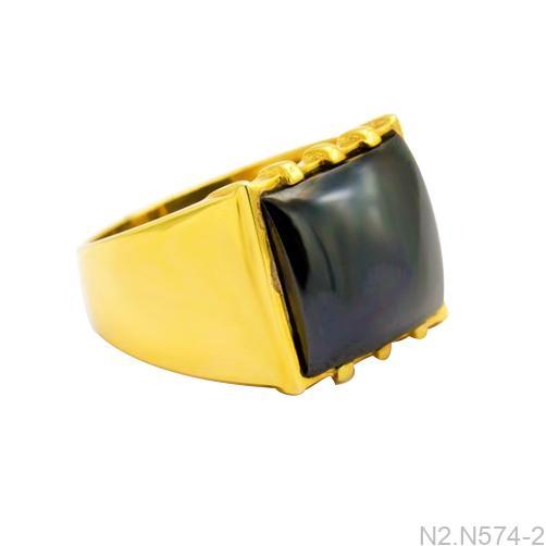 Nhẫn Nam Vàng Vàng 18k - N2.N574-2