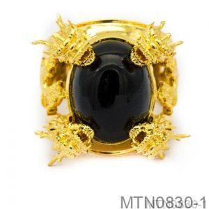 Nhẫn Nam Vàng Vàng 18k - MTN0830-1