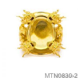 Nhẫn Nam Vàng Vàng 18k - MTN0830-2