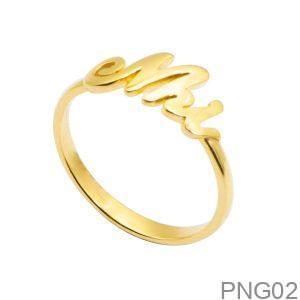 Nhẫn Nữ Vàng 18K - PNG02