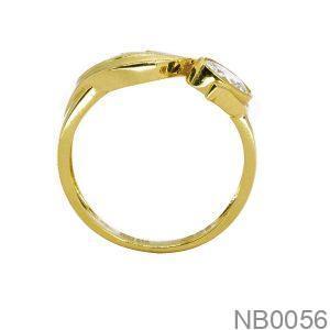 Nhẫn Kiểu Nữ APJ Vàng 18k - NB0056
