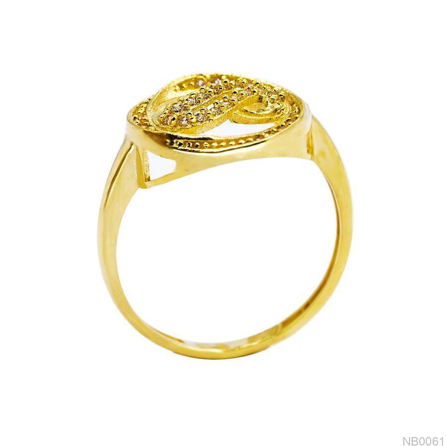 Nhẫn Kiểu Nữ Vàng 18k - NB0061