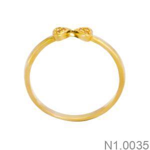 Nhẫn Kiểu Nữ APJ Vàng 18k - N1.0035