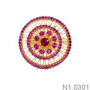 Nhẫn Kiểu Nữ APJ Vàng 18k - N1.0301