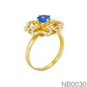Nhẫn Nữ Vàng 18k Đính Đá CZ - NB0030