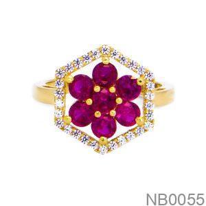 Nhẫn Kiểu Nữ Vàng 18k - NB0055