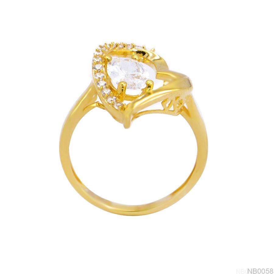 Nhẫn Kiểu Nữ Vàng 18k - NB0058