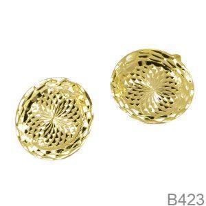 Bông Tai Vàng 18K - B423
