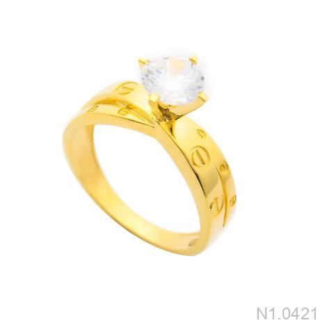 Nhẫn Kiểu Nữ APJ Vàng 18k - N1.0421
