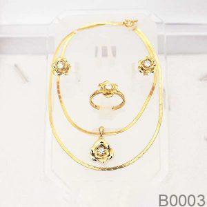 Bộ Trang Sức APJ Vàng 14K - B0003