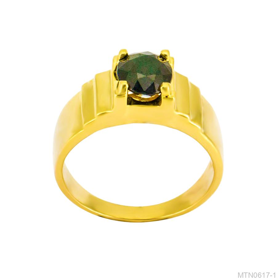Nhẫn Nam Vàng Vàng 18k - MTN0617-1