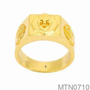 Nhẫn Kiểu Nam APJ Vàng 18k - MTN0710