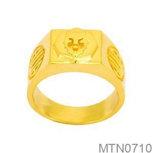 Nhẫn Nam Vàng Vàng 18k - MTN0710