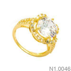 Nhẫn Kiểu Nữ Vàng 18k - N1.0046