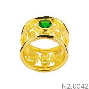 Nhẫn Nam Vàng Vàng 18k - N2.0042