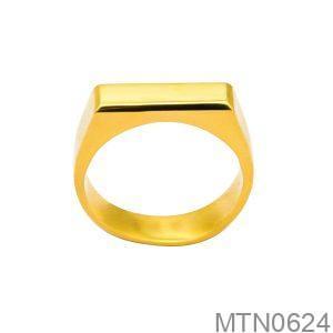 Nhẫn Kiểu Nam APJ Vàng 18k - MTN0624
