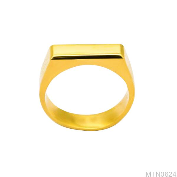 Nhẫn Nam Vàng Vàng 18k - MTN0624