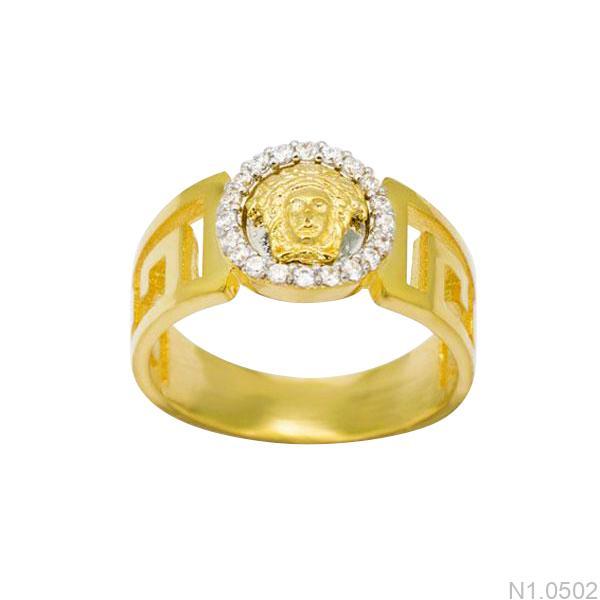 Nhẫn Vàng 18k Đính Đá CZ - N1.0502