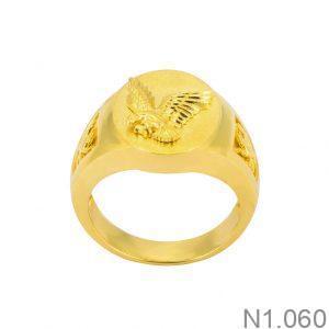 Nhẫn Kiểu Nam APJ Vàng 18k - N1.060