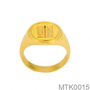 Nhẫn Kiểu Nam APJ Vàng 18k - MTK0015