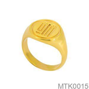 Nhẫn Nam Vàng Vàng 18k - MTK0015
