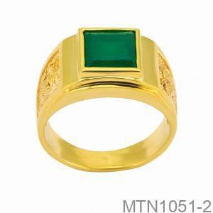 Nhẫn Kiểu Nam APJ Vàng 18k - MTN1051-2