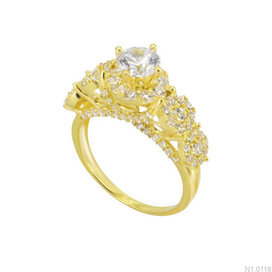N1.0118-1 nhẫn nữ vàng 18k