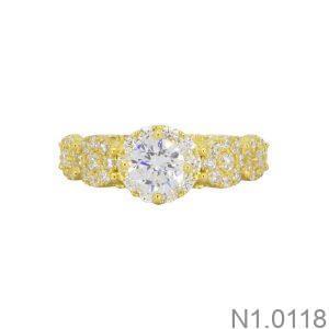 Nhẫn Kiểu Nữ APJ Vàng 18k - N1.0118