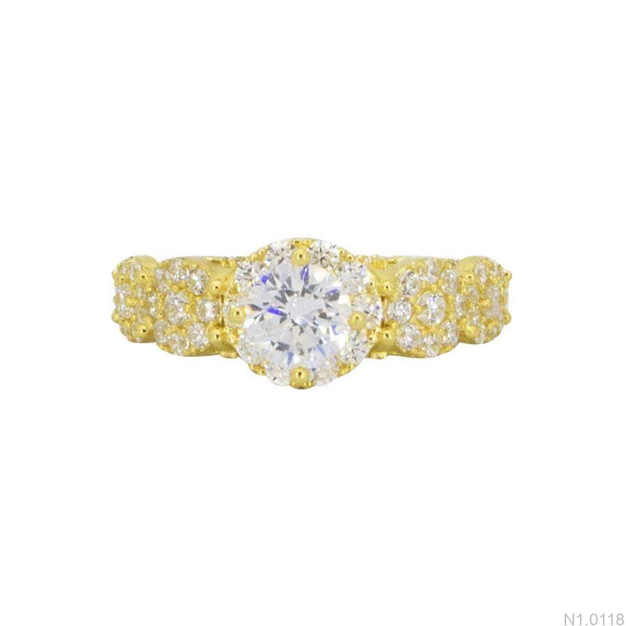 N1.0118-2 nhẫn nữ vàng 18k