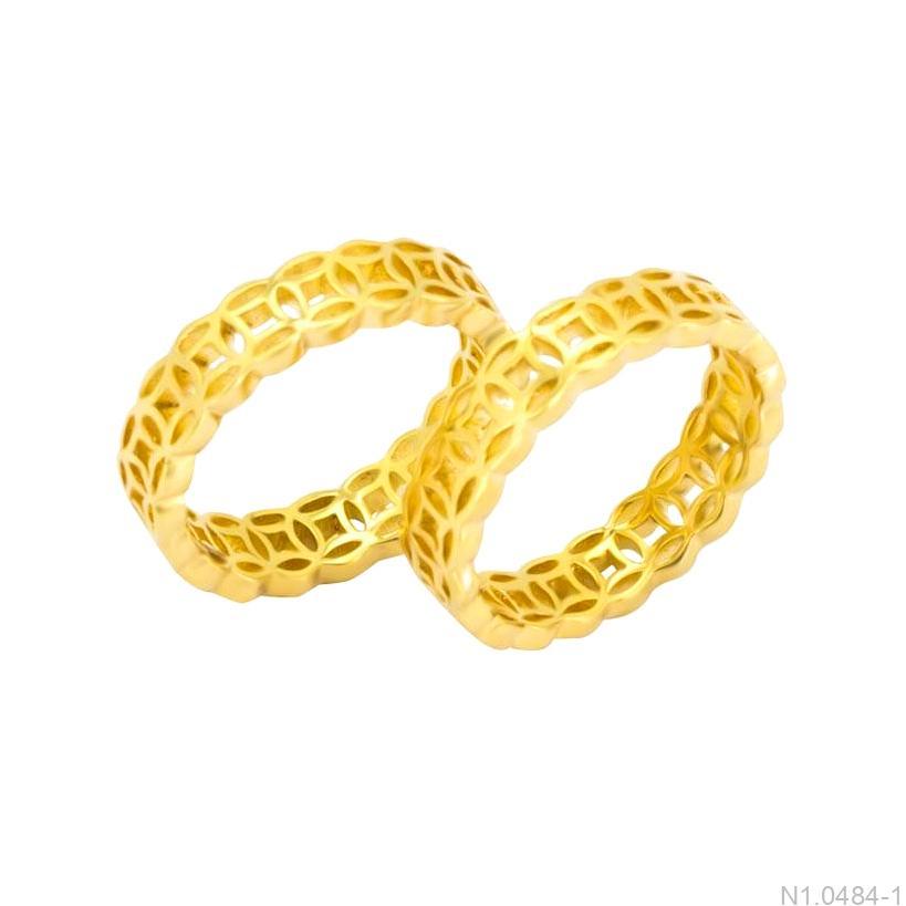 nhẫn cưới kim tiền N1.0484-1-1