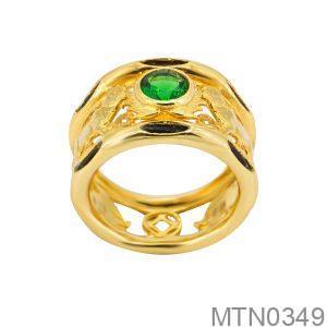 Nhẫn Nam Lông Voi Vàng 18k - MTN0349