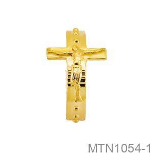 Nhẫn Nam Vàng Vàng 18k - MTN1054-1