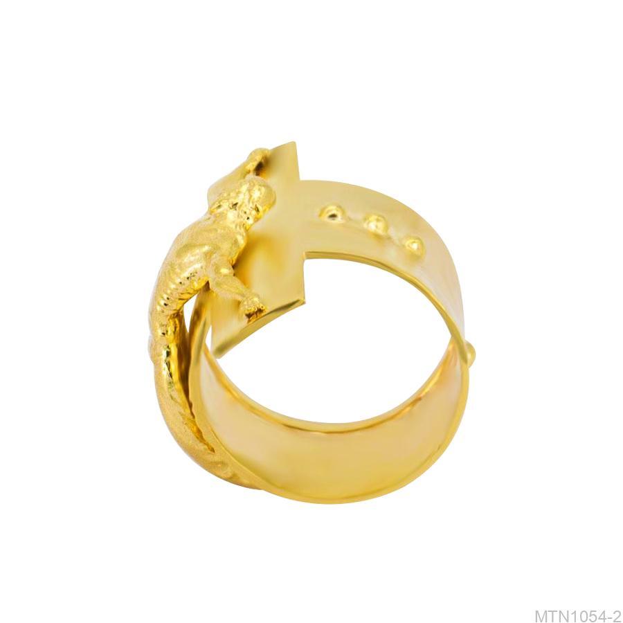 Nhẫn Nam Vàng Vàng 18k - MTN1054-2