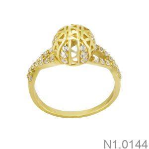 Nhẫn Nữ Vàng 18K Đính Đá CZ - N1.0144