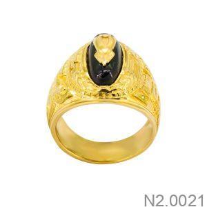 Nhẫn Nam Vàng Vàng 18K - N2.0021