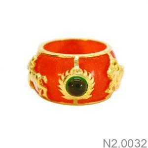 Nhẫn Nam Rồng Vàng 18K - N2.0032
