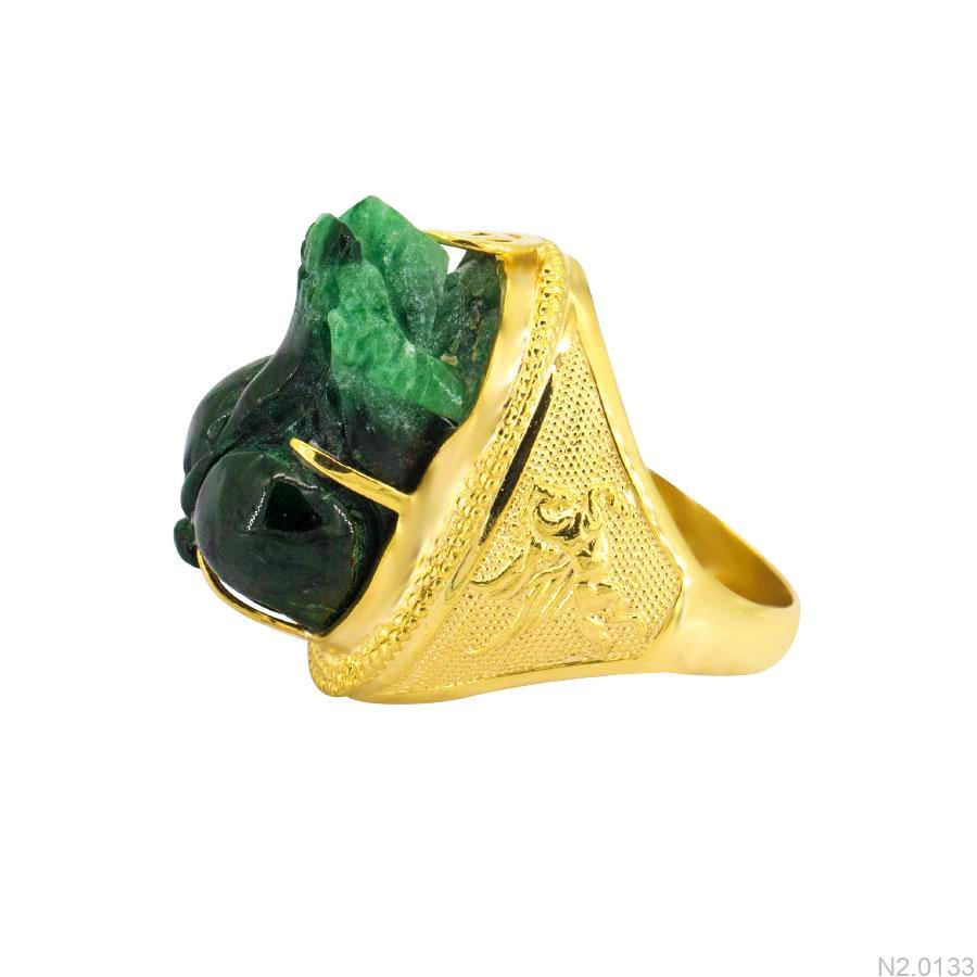 Nhẫn Nam Vàng Vàng 10K - N2.0133