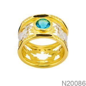 Nhẫn Nam Vàng Vàng 10k - N20086