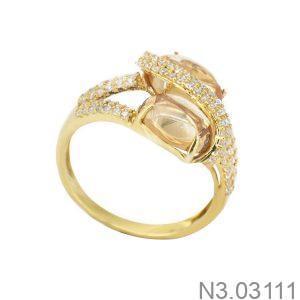 Nhẫn Nữ Vàng 18K Đính Đá CZ - N3.03111