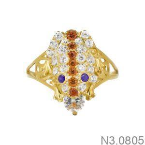 Nhẫn Nữ Vàng 18K Đính Đá CZ - N3.0805