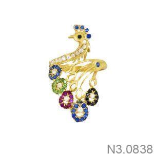 Nhẫn Nữ Vàng 18K Đính Đá CZ - N3.0838