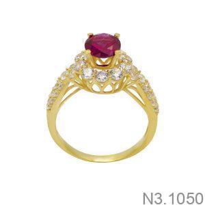 Nhẫn Nữ Vàng 18K Đính Đá CZ - N3.1050