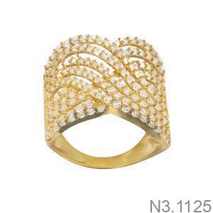 Nhẫn Nữ Vàng 18K Đính Đá CZ - N3.1125