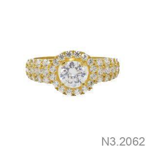Nhẫn Nữ Vàng 18K Đính Đá CZ - N3.2062